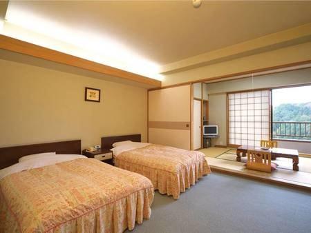 【和洋室/例】広々とした6畳+ツインの和洋室