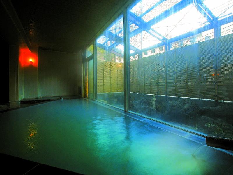 【大浴場/薬師の湯】露天風呂はありません