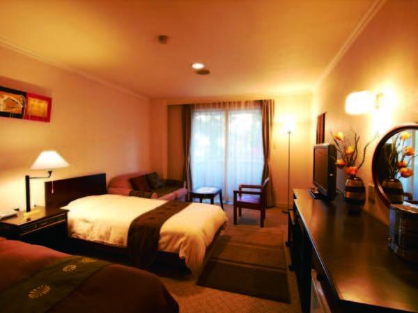 【客室/デラックス洋室ツイン】 27~30平米の広々客室/例