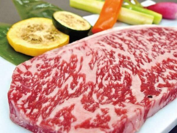 【栃木和牛ステーキ付会席/例】メインをアップ!※1人前約100g