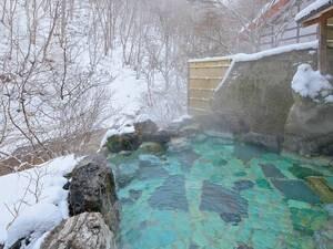 絶景雪見露天風呂