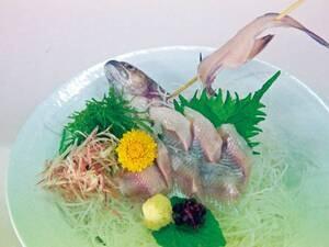 岩魚の活き造り/一例