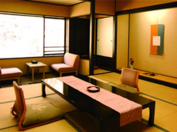 【客室/例】ゆったりとした和室でくつろぐ