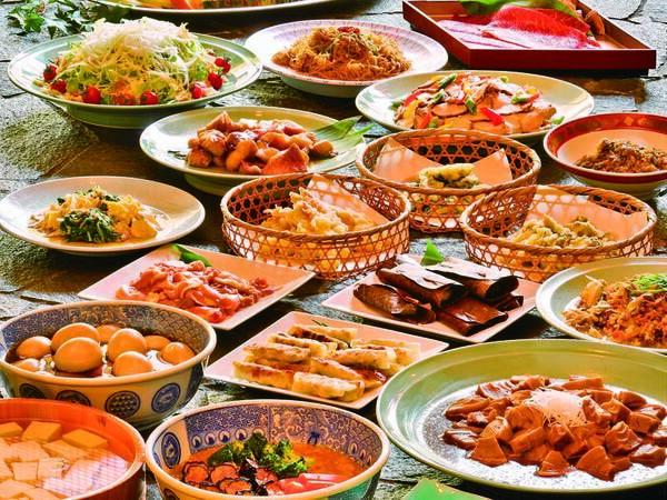 【和食ビュッフェ/例】牛しゃぶ、揚げたて天麩羅・お造り・湯波などが食べ放題