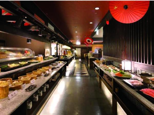 【和食ビュッフェ/食事会場】お好きなものをお好きなだけどうぞ