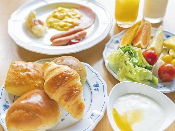【朝食/一例】お好きなものを食べ放題!
