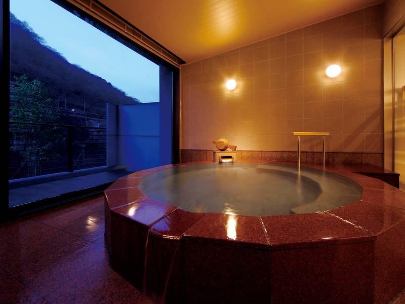 【貸切風呂/打ち出の小槌の湯「隠笠」】趣異なる貸切風呂を4つ完備