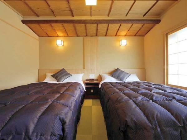 【禁煙】八番館ベッド付和室/例