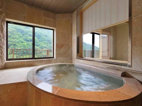 【秀峰館最上階■眺望風呂付■和洋室「雅」/例】