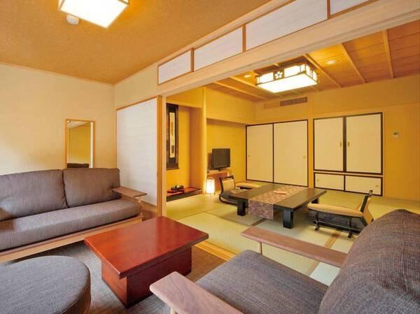 【禁煙】八番館◆露天風呂付◆客室/一例
