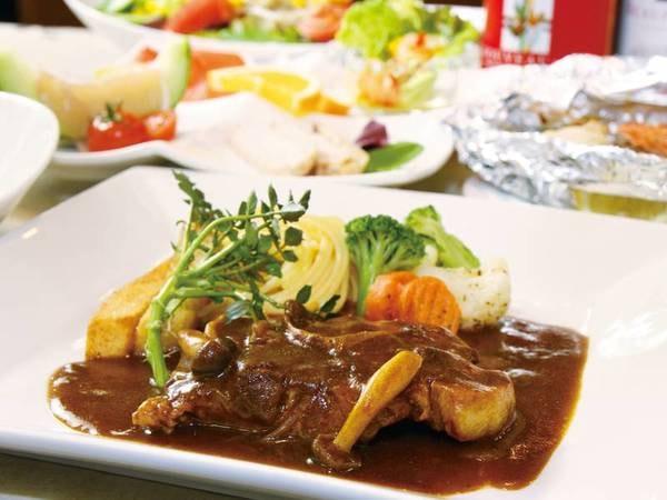 選べる夕食付プラン 洋食/例 口コミ好評!ボリューム満点で大人気♪