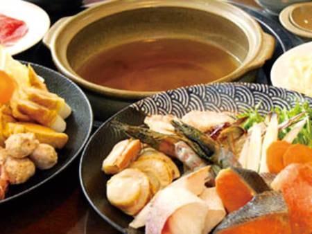 選べる夕食付プラン 海鮮鍋/例 口コミ好評!ボリューム満点で大人気♪