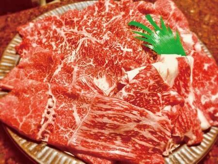 【那須野ヶ原牛/例】特典付!選べる夕食プランより1,500円(税抜)増で那須野ヶ原牛を堪能できる美食プランを選択可能♪