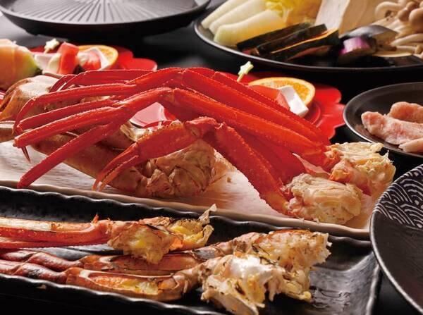 カニ食べ放題+選べる夕食/写真はイメージ