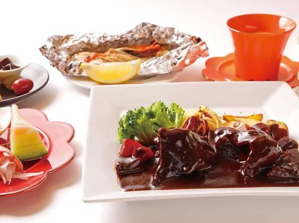 【選べる夕食】洋食一例