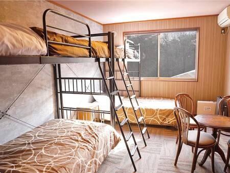 【洋室/例】定員3名。人数に合わせて広さは宿お任せとなります