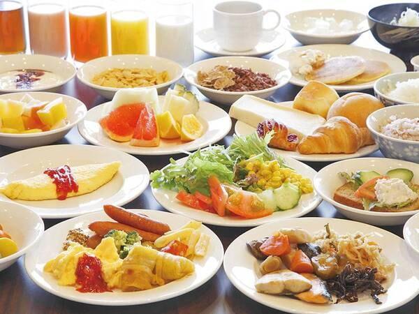 【朝食バイキング/例】豊富なメニューの朝食バイキングをご用意!