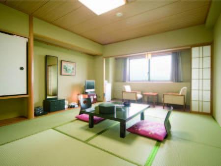 【10畳和室/例】足を伸ばしてのんびりとお寛ぎを!