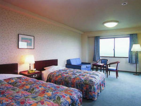 【36㎡洋室/例】7階以上なので見晴し良!ベッドはセミダブルサイズ!