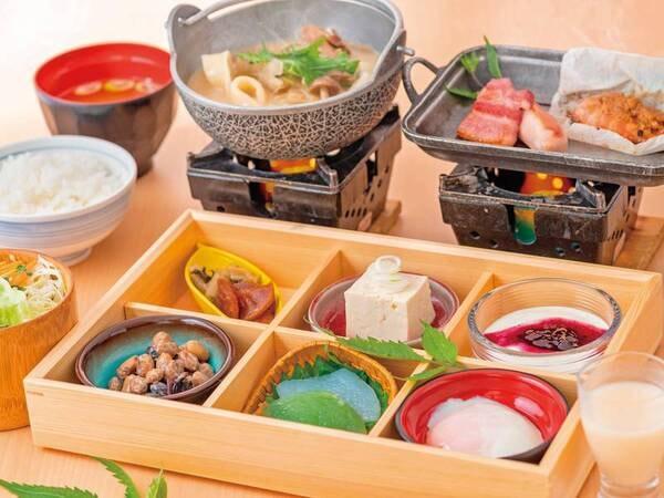 【朝食/例】群馬県の厳選食材を使用した朝定食