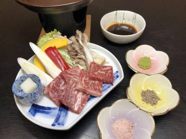 上州牛ステーキ付/一例
