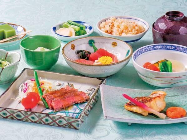 和・洋・中から選べる夕食/和食一例
