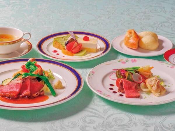 和・洋・中から選べる夕食/洋食一例