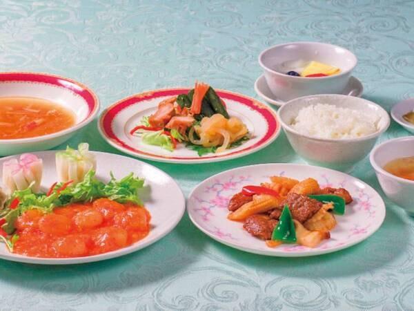 和・洋・中から選べる夕食/中国料理一例