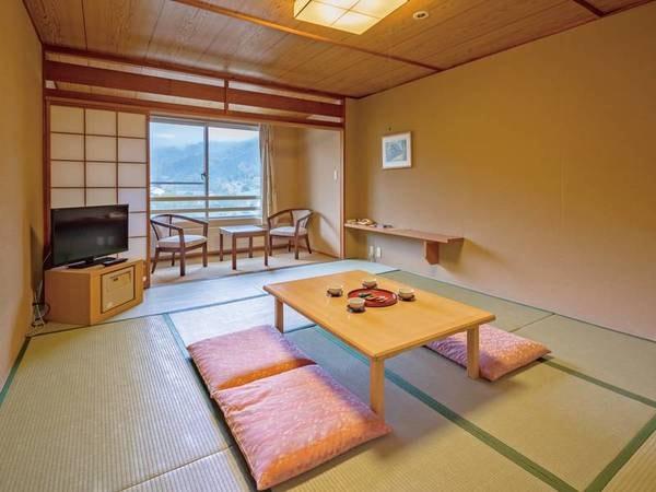 【和室/例】ゆっくりと畳の客室で寛げる