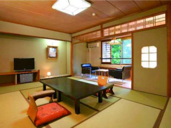 【客室/例】10畳以上和室へご案内