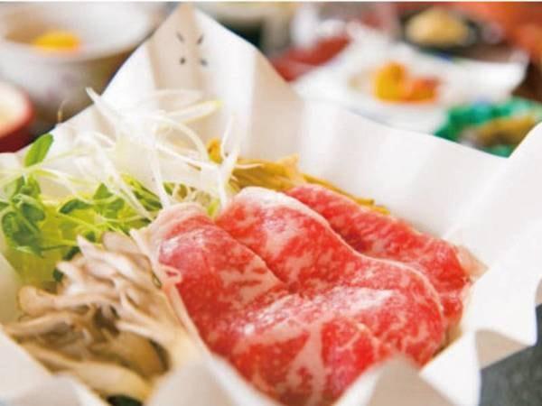 【上州牛&選べる岩魚料理/例】メインは上州牛すき焼きを