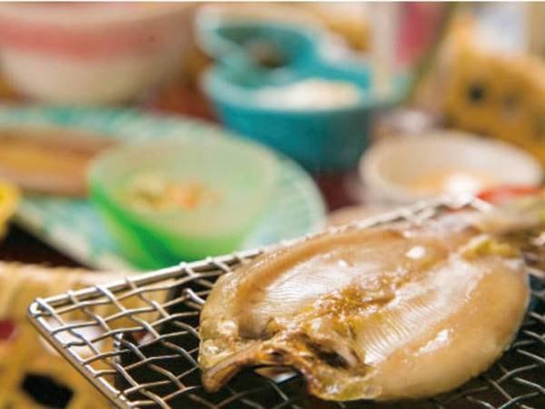 【朝食/例】鮎の一夜干し
