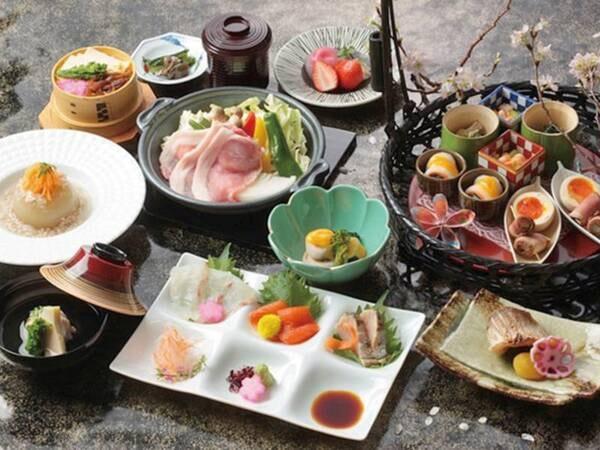 【和食会席/例】地元の新鮮な食材を生かした品々