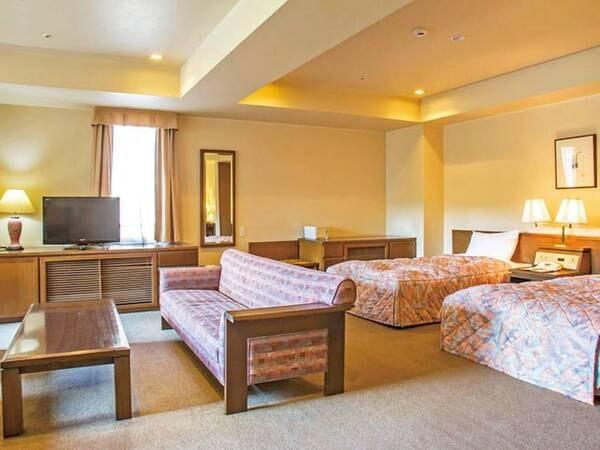 【56㎡洋室/例】おふたりのリゾートの休日に最適なくつろぎの空間をご用意