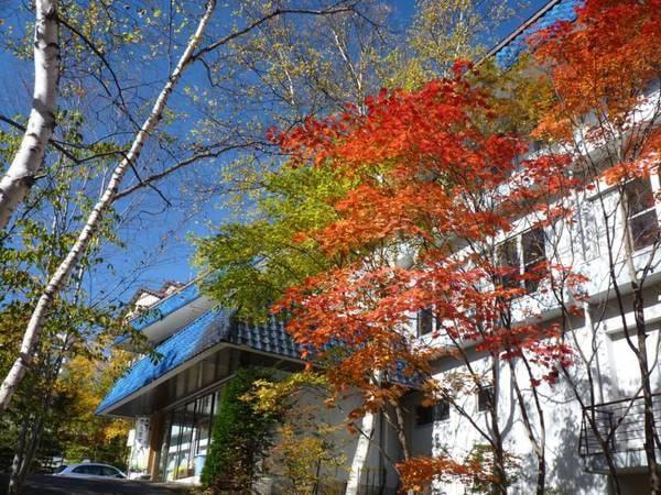 (外観)秋は紅葉が色づきます