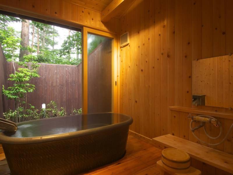 【貸切風呂/湯楽】プライベートな空間でゆったり