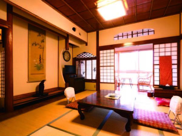 【西棟和室/例】書院造を基本として全室デザインをたがえる和室