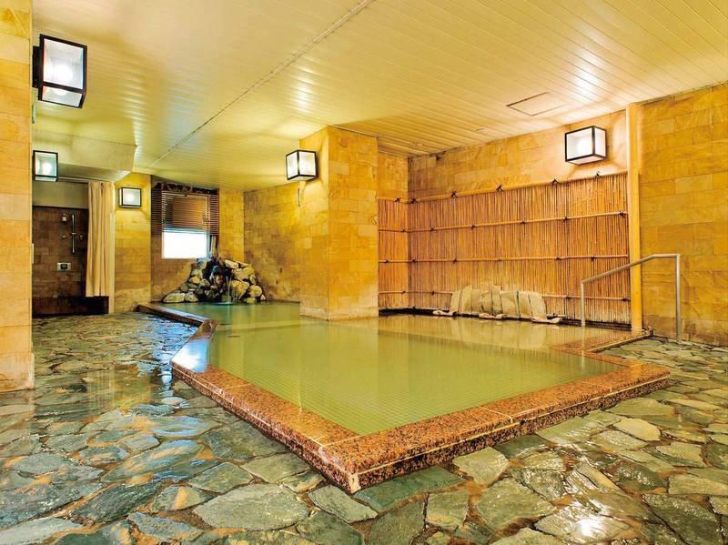 【大浴場】「白銀の湯」をゆったり満喫