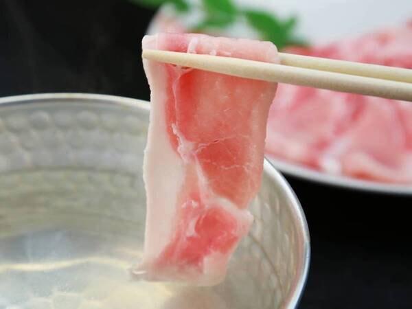 *【豚しゃぶ】程よい脂がのった豚肉をしゃぶしゃぶであっさりと♪※画像はイメージです。