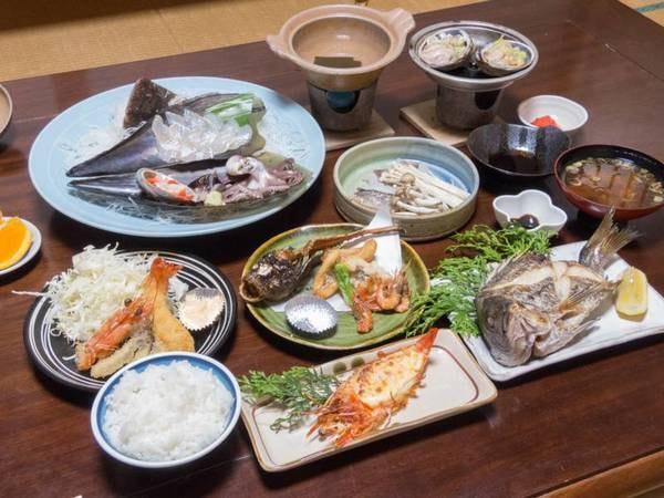 *【お料理】夕食一例★海の幸がてんこもり