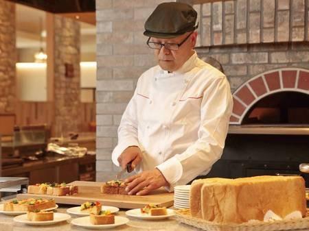 【朝食/例】ふわふわピザトースト
