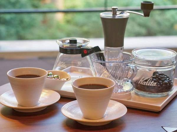 川側29㎡洋室[禁煙]/挽きたてのコーヒーを愉しめるセット付