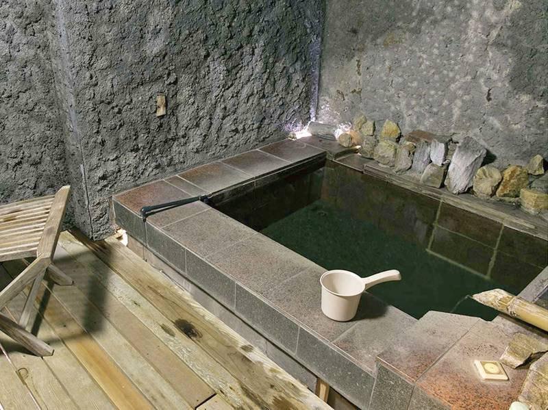 【貸切露天風呂/暗龍】洞窟をイメージしたお風呂
