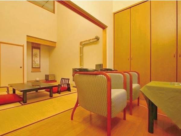 【西館客室/例】露天風呂付和洋室