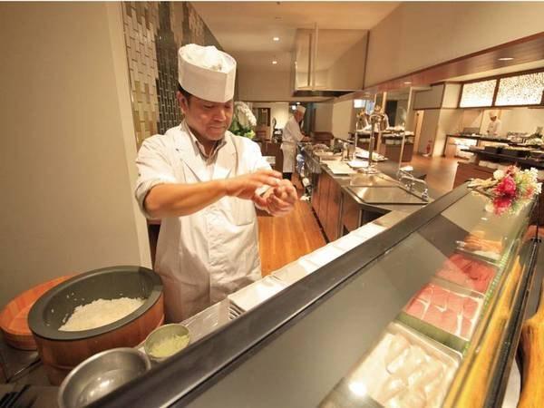 【和洋中バイキング/例】握り寿司もご用意