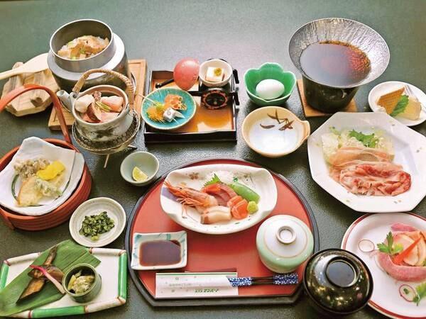 【松茸料理5品付会席/例】秋の味覚を贅沢に堪能