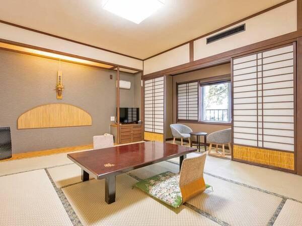 本館和室 落ち着いた客室は洗浄機能トイレ付(一例)
