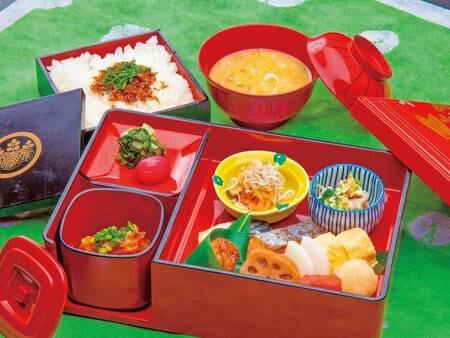 【朝食/例】宿オリジナルの和結び朝食(※朝食内容は変更となる場合有)