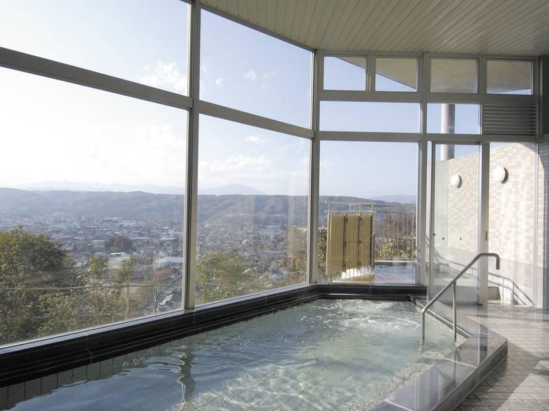 【大浴場】秩父の景色と温泉を満喫
