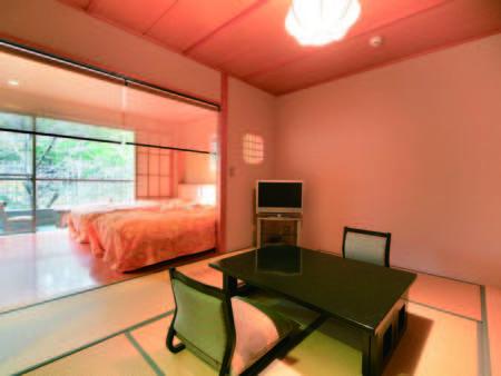 【露天風呂付和洋室/例】お部屋のお風呂は温泉ではありません